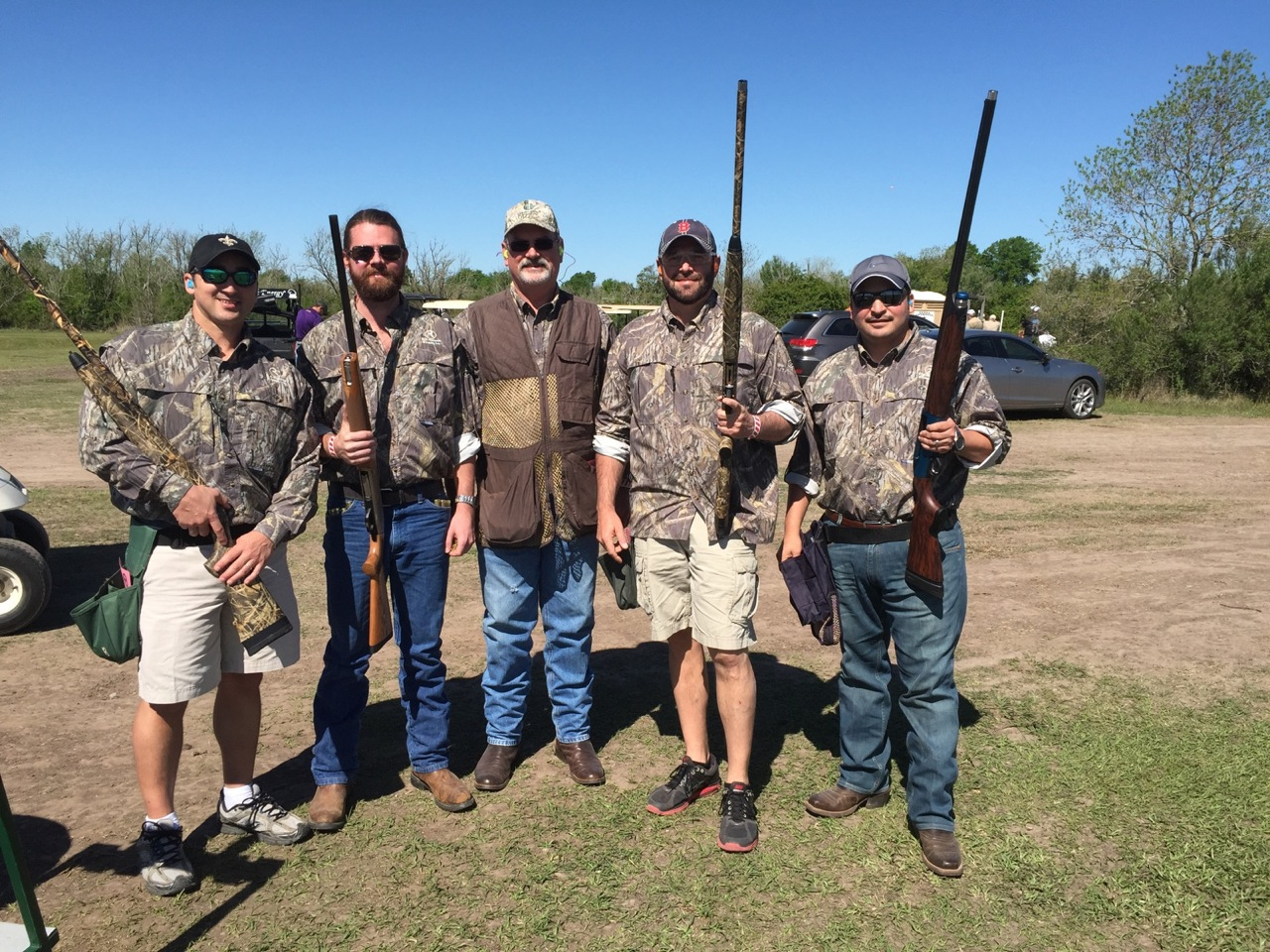 CA Richards & Assoc. sponsored a team for the MTS Houston Section's Sporting Clays Tournament.